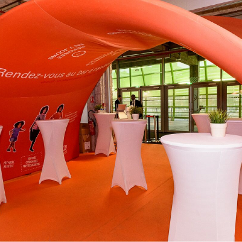 Stand Tunnel-Projet Eduniversal
